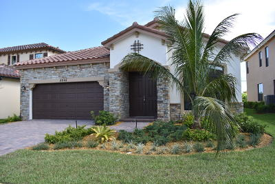 Lake Worth Single Family Home For Sale: 8892 Sea Chase Drive