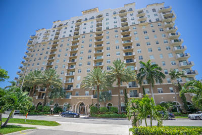 West Palm Beach Rental Leased: 616 Clearwater Park Road #209