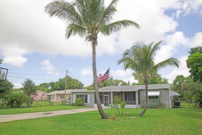 West Palm Beach Single Family Home For Sale: 4665 Evans Lane