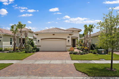 Port Saint Lucie Single Family Home For Sale: 11215 SW Visconti Way