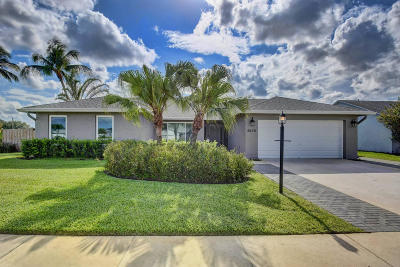 Lake Worth Single Family Home For Sale: 8675 White Egret Way