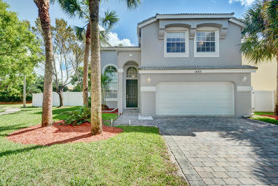 Royal Palm Beach Single Family Home For Sale: 1462 Running Oak Court