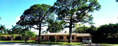 Wilton Manors Single Family Home For Sale: 2024 Coral Gardens Drive Drive