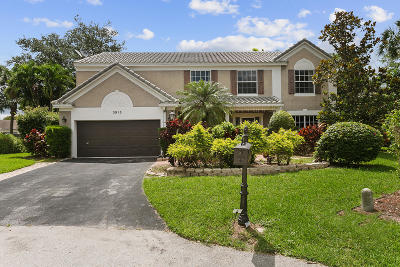 Coral Springs Single Family Home For Sale: 3915 Wild Lime Lane