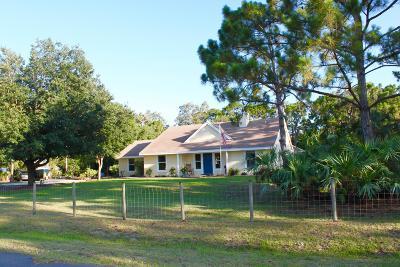 Jupiter Single Family Home For Sale: 13968 156 St N Street