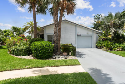 Boca Raton Single Family Home For Sale: 19527 Sea Pines Way