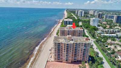 Highland Beach Condo For Sale: 4511 S Ocean Boulevard #606