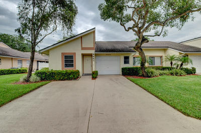 Boca Raton Single Family Home For Sale: 8665 Flamingo Drive #C