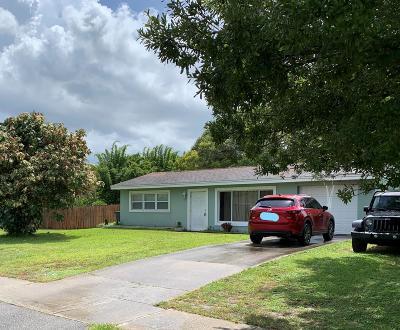 Fort Pierce Single Family Home For Sale: 2811 Oleander Boulevard