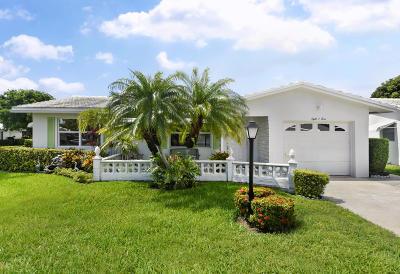 Boynton Beach Single Family Home For Sale: 804 SW 8th Avenue