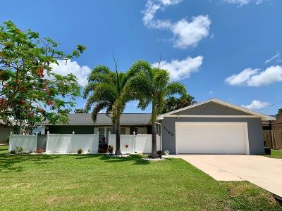 Port Saint Lucie Single Family Home For Sale: 1185 SE Mendavia Avenue