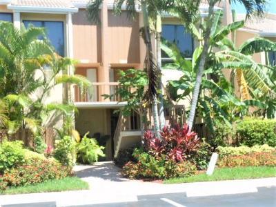 Boca Raton Townhouse For Sale: 3605 Bridgewood Drive