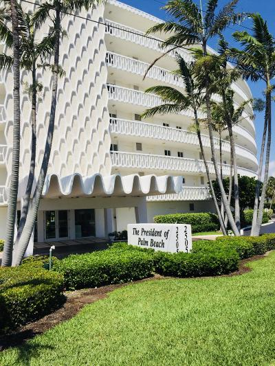 Palm Beach Condo For Sale: 2505 S Ocean Boulevard #3020