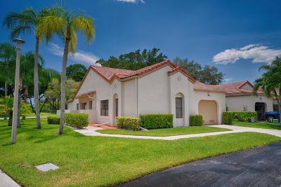Boynton Beach Single Family Home For Sale: 5754 Parkwalk Circle W