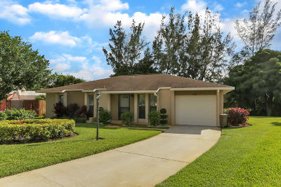 West Palm Beach Single Family Home For Sale: 1273 Westover Road