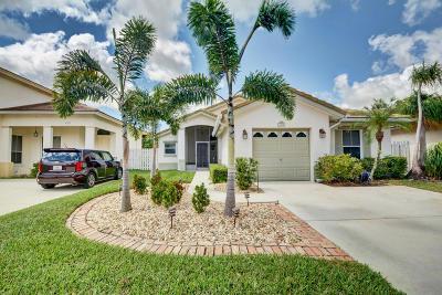 Boynton Beach Single Family Home For Sale: 4318 Manor Forest Way