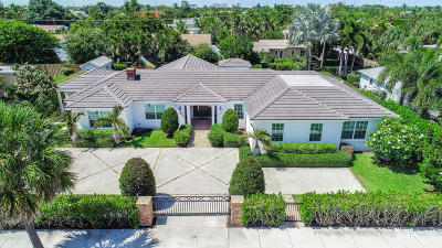West Palm Beach Single Family Home For Sale: 359 Palmetto Street