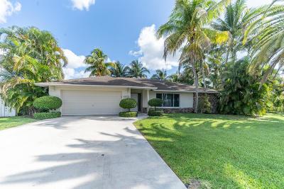 Boynton Beach Single Family Home For Sale: 4651 Palo Verde Drive
