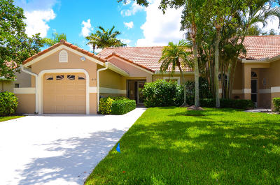 Palm Beach Gardens Single Family Home For Sale: 201 Sabal Palm Lane