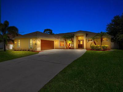 Port Saint Lucie Single Family Home For Sale: 1272 SW Ermine Avenue