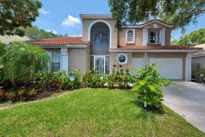 Palm Beach Gardens Single Family Home For Sale: 1032 Siena Oaks Circle W