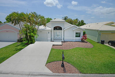 Delray Beach Single Family Home For Sale: 5640 American Circle