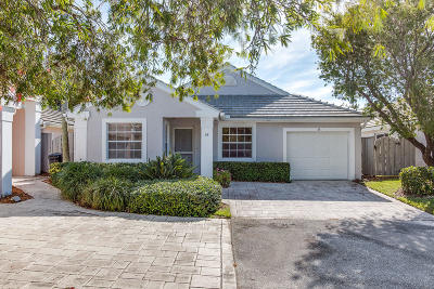 Palm Beach Gardens Rental For Rent: 58 Admirals Court