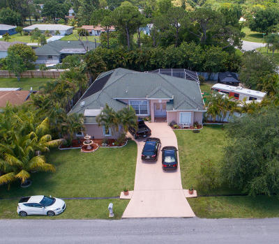 Port Saint Lucie Single Family Home For Sale: 501 NW Placid Avenue