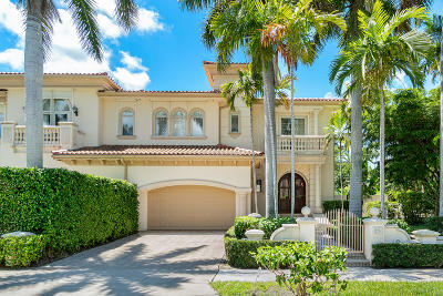 Palm Beach Townhouse For Sale: 256 Everglade Avenue
