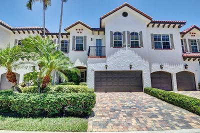 Delray Beach Townhouse For Sale: 805 Estuary Way