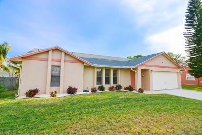 Port Saint Lucie Single Family Home For Sale: 1080 SW Firestone Avenue