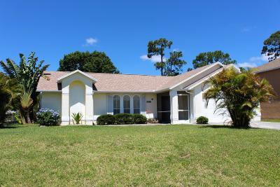 Port Saint Lucie Single Family Home For Sale: 2192 SE Wald Street