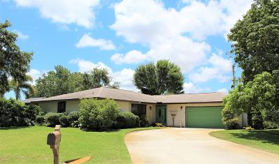 Fort Pierce Single Family Home For Sale: 5208 Suson Lane