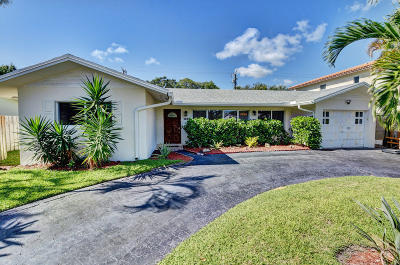 Boca Raton Single Family Home For Sale: 1346 NW 4th Street
