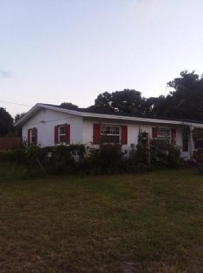 Fort Pierce Single Family Home For Sale: 1703 Linwood Avenue