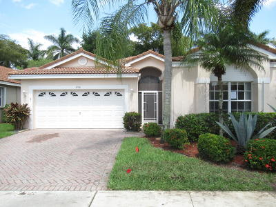 Boynton Beach Single Family Home For Sale: 9796 Lemonwood Drive