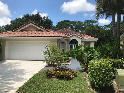 Jupiter Single Family Home For Sale: 124 S Hampton Drive