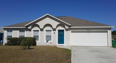 Port Saint Lucie Single Family Home For Sale: 667 SW Sail Terrace