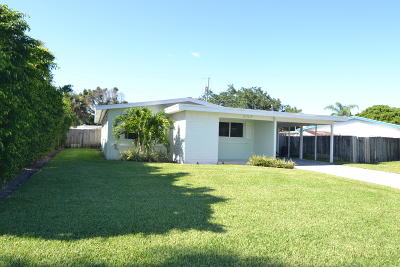 Palm Beach Gardens Single Family Home For Sale: 407 Riverside Drive