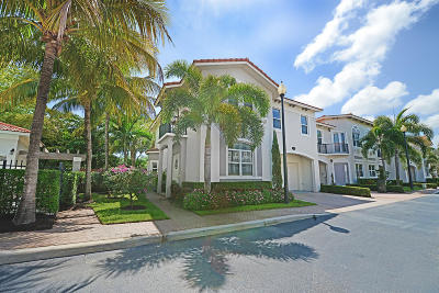 Delray Beach Townhouse For Sale: 1855 Highland Grove Drive