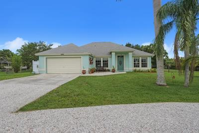 Palm Beach Gardens Single Family Home For Sale: 8486 154th Court