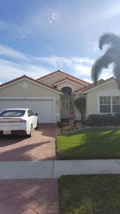 Boca Raton Single Family Home For Sale: 8884 Harrods Drive
