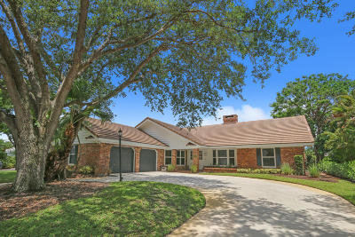 Palm Beach Gardens Single Family Home For Sale: 3 Lethington Road