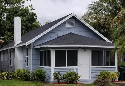 Lake Worth Single Family Home For Sale: 428 H Street