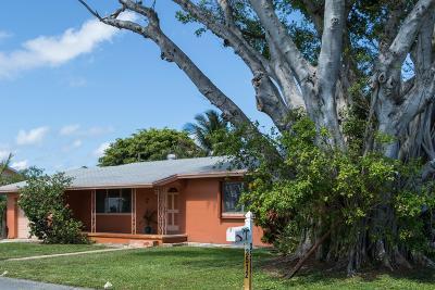 Boynton Beach Single Family Home For Sale: 3512 SE 1st Street