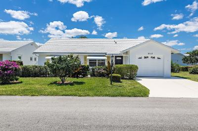 Boynton Beach Single Family Home For Sale: 2113 SW 22nd Court