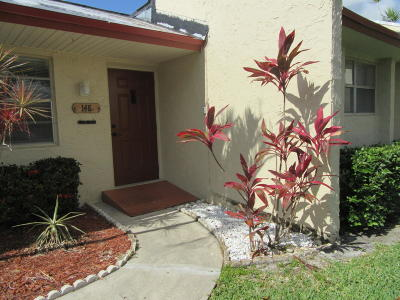 West Palm Beach Single Family Home For Sale: 148 Lake Anne Drive