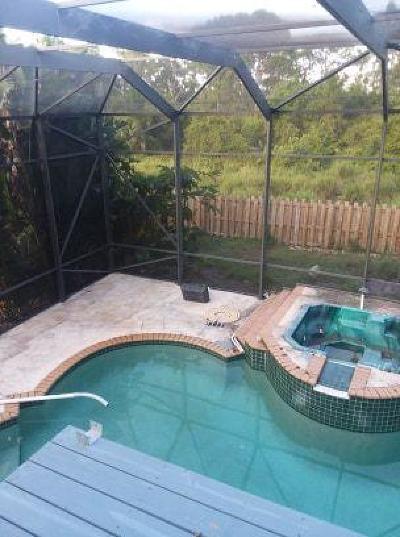 Fort Pierce Single Family Home For Sale: 5204 Sunset Boulevard
