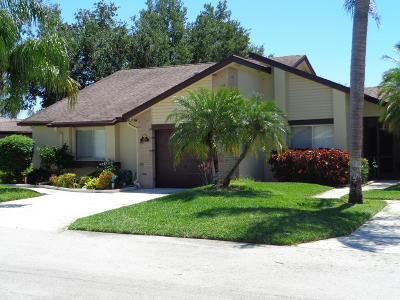 Royal Palm Beach Single Family Home For Sale: 109 Ramblewood Circle #109