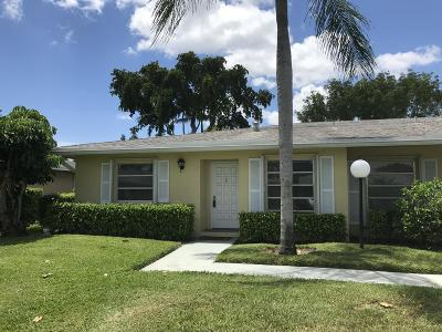 Delray Beach Condo For Sale: 1130 Cactus Terrace #A